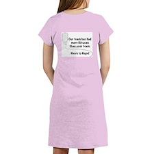 Heers to Hope Women's Nightshirt