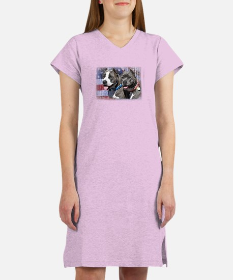 Patriotic Bully Women's Nightshirt