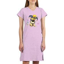 Party Pug Women's Nightshirt