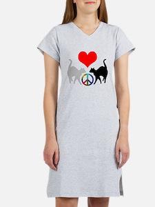 Love & peace Women's Nightshirt
