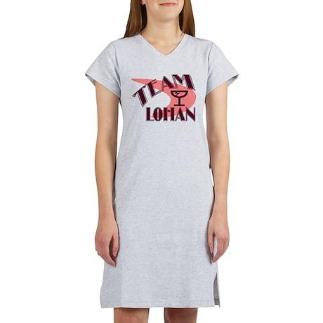 Team Lohan Retro Martini Women's Nightshirt