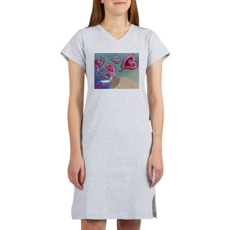 Liquid Love Women's Nightshirt