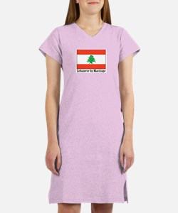 Lebanese by Marriage Women's Nightshirt