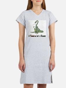 Thesaurus Dinosaur Women's Nightshirt