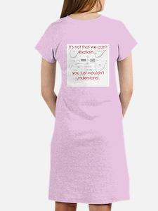 Women's Nightshirt - Wouldn't Understand - Red