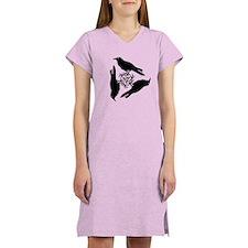 Raven Triskel Women's Nightshirt