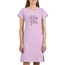 Try Back Tomorrow Pink Women's Nightshirt