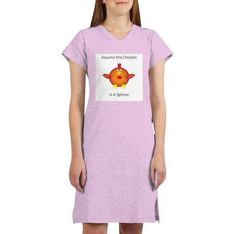 Simplify The Chicken Women's Nightshirt