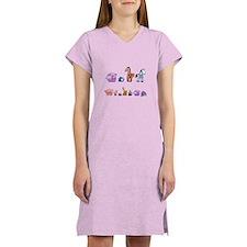Just Love Animals 1 Women's Nightshirt