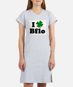 I Shamrock Buffalo Women's Nightshirt