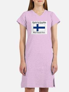 Finnish Parts Women's Nightshirt
