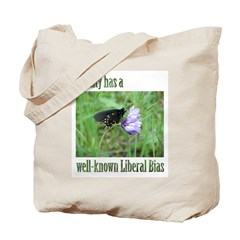 Reality has a Liberal Bias Tote Bag
