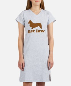 Get Low Corgi Women's Nightshirt