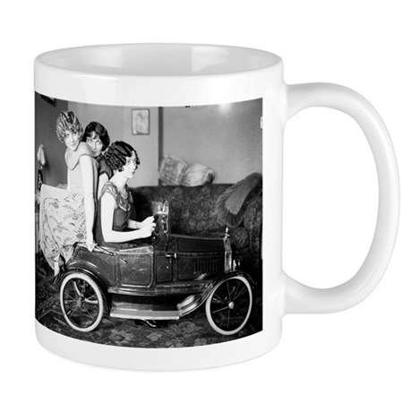 Flappers in a Flivver Mug