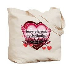 Breaking Dawn Forever by Twibaby Tote Bag