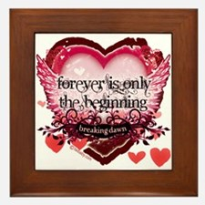 Breaking Dawn Forever by Twibaby Framed Tile