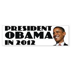 Obama 2012 Bumper Bumper Sticker