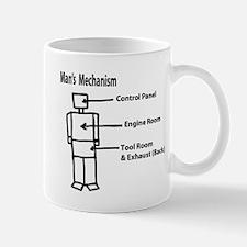 mans mechanism Mug