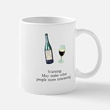 Warning Makes Others Interest Mug