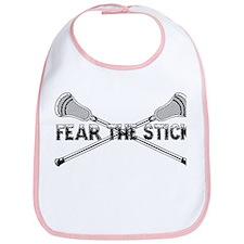 Lacrosse Fear the Stick Bib
