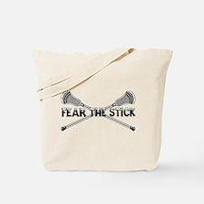 Lacrosse Fear the Stick Tote Bag