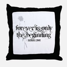 Forever is Only the Beginning by Twibaby Throw Pil