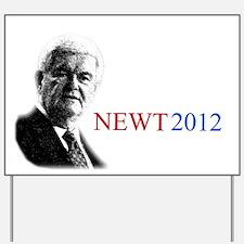 Newt Gingrich 2012 Yard Sign