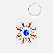 Unique Unitarian universalist Keychains