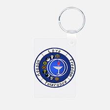 Circle Chalice Photo Keychain