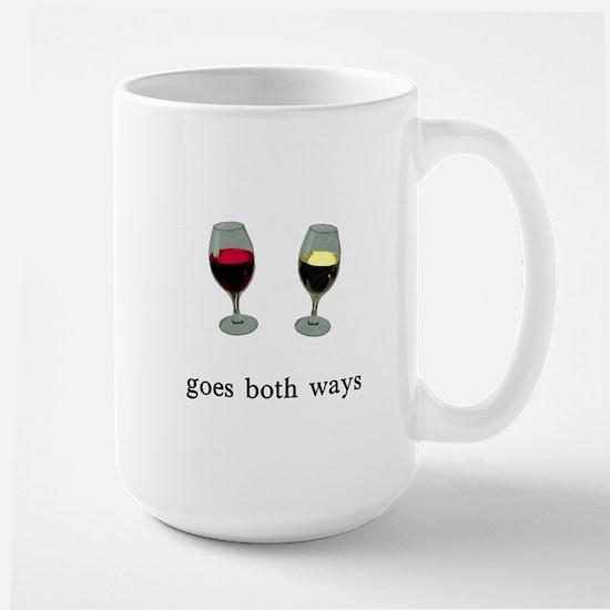 Goes Both Ways Large Mug