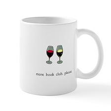 More Book Club Please Mug