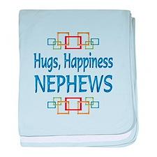 Nephew Hugs baby blanket