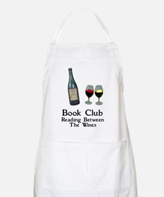 Reading Between Wines Apron