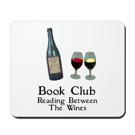 Reading Between Wines Mousepad