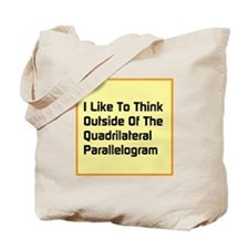 Quadrilateral Parallelogram Tote Bag
