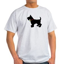 Scottish Terrier Silhouette T-Shirt