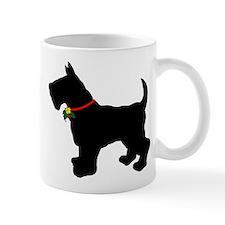 Scottish Terrier Silhouette Mug