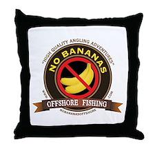 No Bananas Classic Throw Pillow