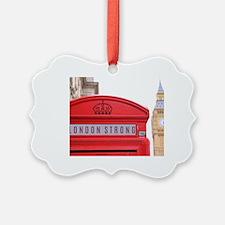 Cute London england Ornament