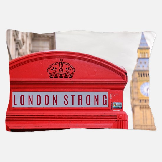 Cute London england Pillow Case