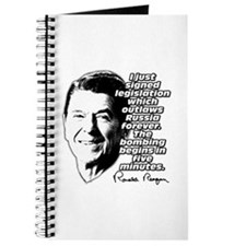 """Reagan """"Outlaw Russia Forever"""" Journal"""