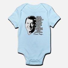 "Reagan ""Outlaw Russia Forever"" Infant Bodysuit"