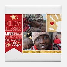 PDI Holiday Tile Coaster