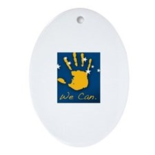 """PDI """"We Can"""" Ornament (Oval)"""