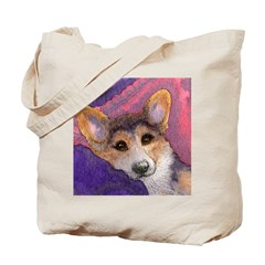 Corgi wisdom about chilling o Tote Bag