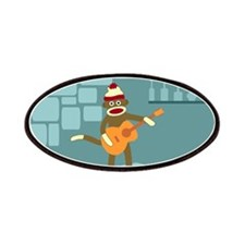 Sock Monkey Acoustic Guitar Patch