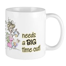 BIG TIME OUT Small Mug