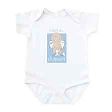 I DON'T DO DIAPERS Infant Bodysuit