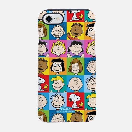 Peanuts Back to School Pattern iPhone 7 Tough Case