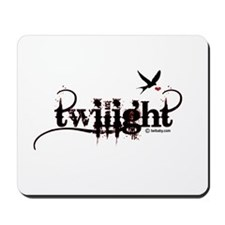 Twilight Captures my Heart by Twibaby Mousepad